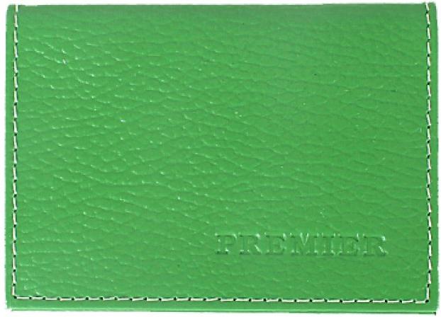 Визитница женская Premier, цвет: зеленый. 193677