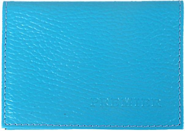 Визитница мужская Premier, цвет: синий. 193678