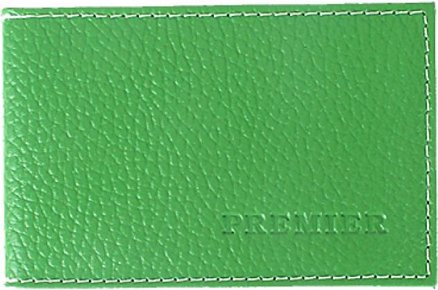 Визитница женская Premier, цвет: темно-зеленый. 193681