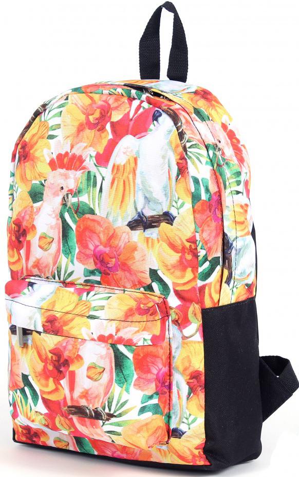 Рюкзак женский Юпитер, цвет: желтый. 196471196471Повседневный рюкзак с яркими принтами торговой марки Юпитер с одним отделением и внутренним карманом имеет внешний карман, закрывающийся на молнию, станет отличным проявлением твоей индивидуальности.