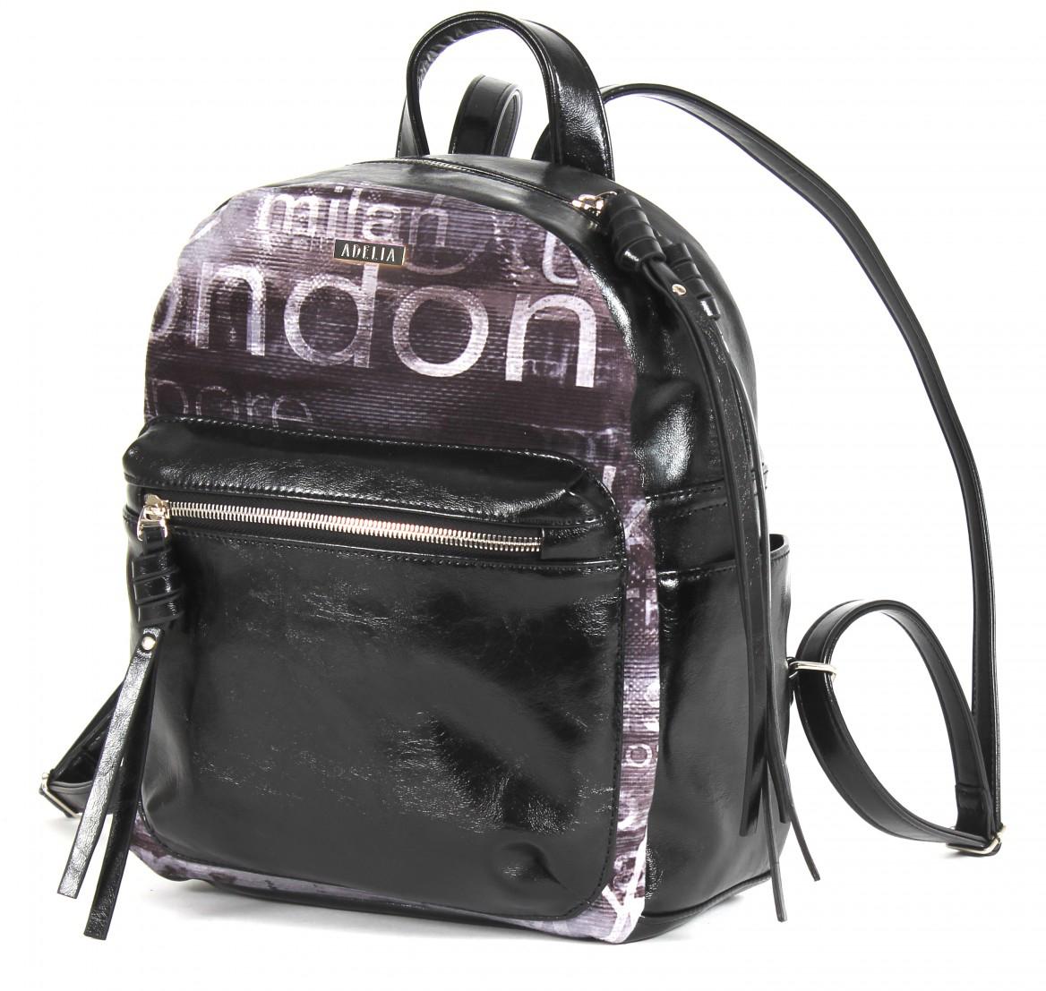 Рюкзак женский Adelia, цвет: черный. 198007