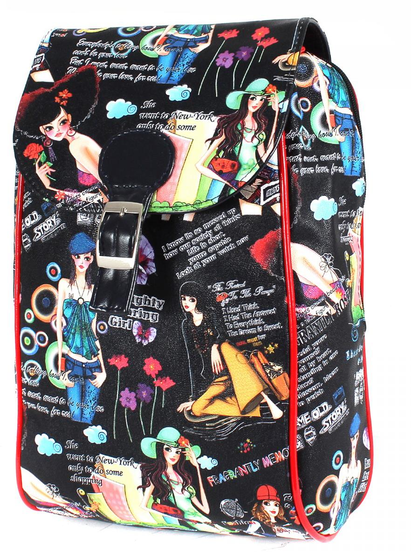 Рюкзак женский Gera, цвет: черный. 198704