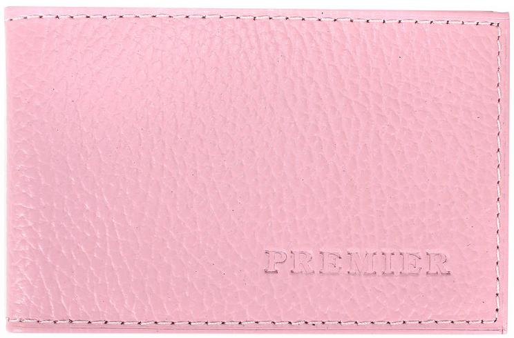 Визитница женская Premier, цвет: розовый. 198850 визитница стильный шоппинг