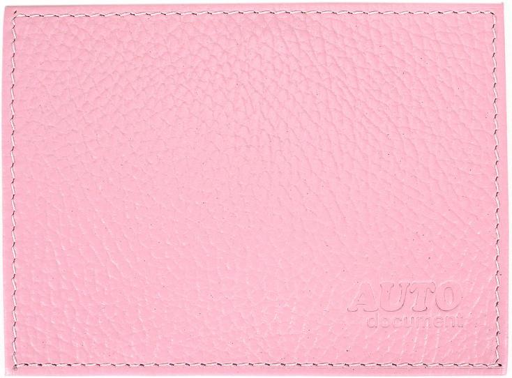 Обложка для автодокументов Premier, цвет: розовый. 198869198869Обложка для авто.документов розовый флотер