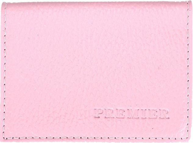 Визитница женская Premier, цвет: розовый. 200286