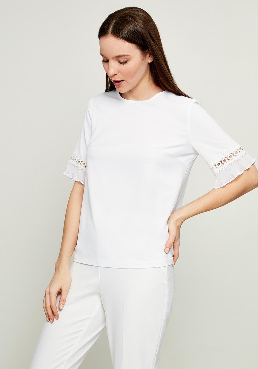 Блузка женская Zarina, цвет: белый. 8123071301001. Размер 42 блузка женская zarina цвет белый 8224086316001 размер 42