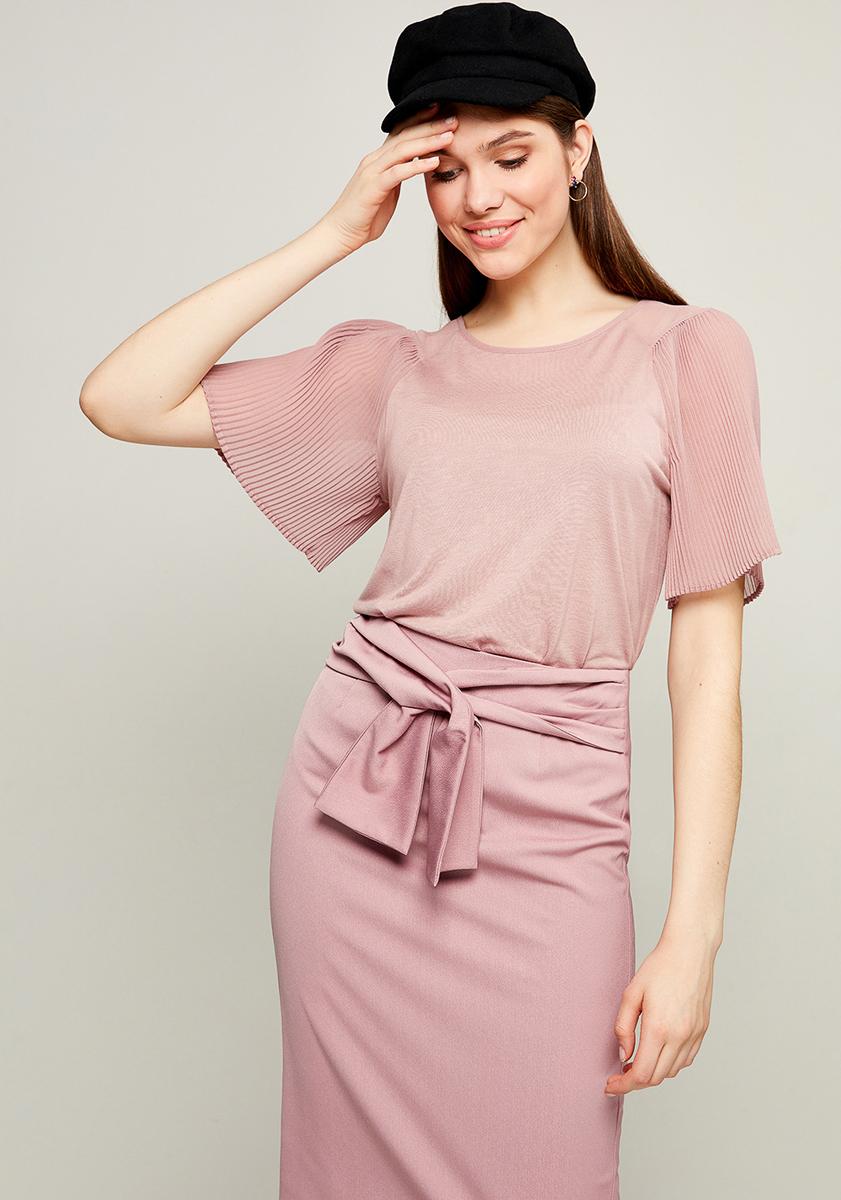 Блузка женская Zarina, цвет: розовый. 8123512412093. Размер XS (42) ремень bestex для бытовых швейных машин 20 шт 181580