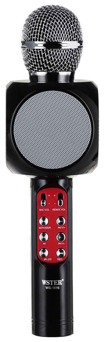 Karaoke Boom KB-WS1816RU, Black микрофон