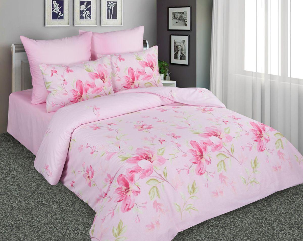 Комплект белья Amore Mio 7217/7218 2, евро, наволочки 70x70, цвет: розовый1095Постельное белье Amore Mio из перкали не только привлекательно внешне, но и практично. Оно прослужит вам долгие годы. Спать на нём одно удовольстве. Ткань гладкая, с небольшим шелковистым отливом. При правильном уходе комплект не потеряет ни цвет ни форму.