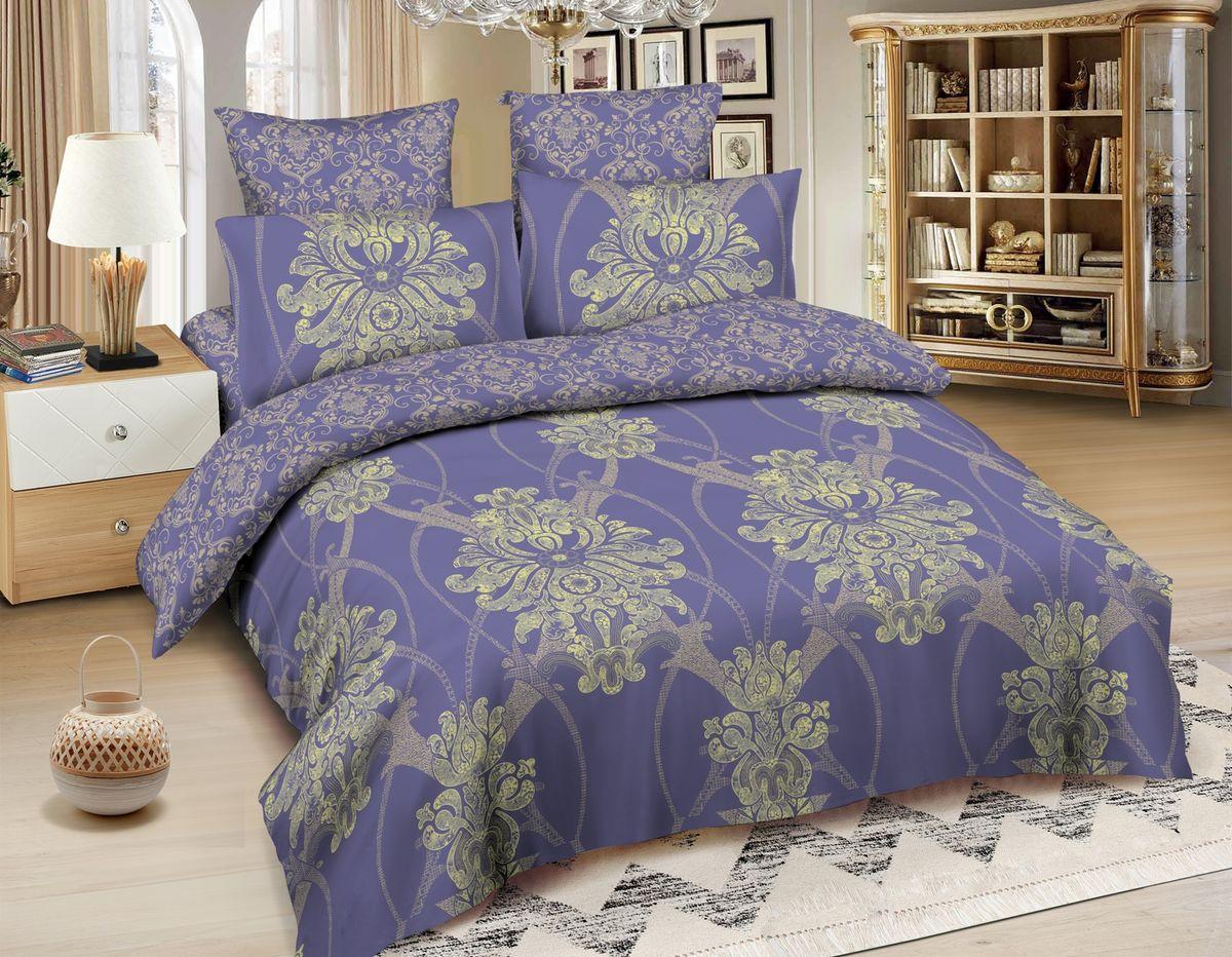 Комплект белья Amore Mio Oslo, семейный, наволочки 70x70, цвет: синий87998Роскошный комплект постельного белья ТМ Amore Mio изготовленн из сатина премиального качества. Ткань гладкая, шелковистая, необычайно приятная на ощупь. Традиционный дизайн добавит в любой интерьер тепла и уюта. Постельное белье практически не мнётся, не линяет, не деформируется, легко стирается и быстро сохнет. Покупая постельное бельё Amore Mio из сатина, Вы приобретаете безупречное качество по идеальной цене!