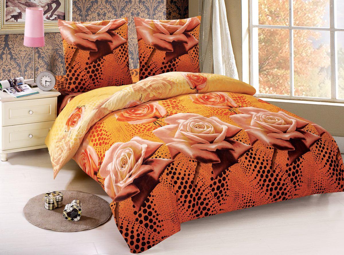 Комплект белья Amore Mio Julia, 1,5-спальный, наволочки 70x70, цвет: оранжевый88454Роскошный комплект постельного белья ТМ Amore Mio изготовленный из мако-сатина впечатлит Вас свой нежностью. Ткань гладкая, шелковистая, необычайно приятная на ощупь. Традиционный дизайн добавит в любой интерьер тепла и уюта. Постельное белье практически не мнётся, не линяет, не деформируется, легко стирается и быстро сохнет. Покупая постельное бельё Amore Mio из мако-сатина, Вы приобретаете безупречное качество по идеальной цене!