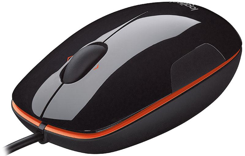 Logitech M150, Black Orange мышь (910-003744)910-003744Logitech M150 – универсальная мышь, которая пригодится дома или в офисе. Она оборудована двумя кнопками и колесом прокрутки, этого достаточно для повседневного взаимодействия с офисными, мультимедийными, развлекательными программами, веб-браузерами и многими другими приложениями.Данная модель использует лазерную технологию и хорошо работает практически на любой поверхности, обеспечивая полный контроль над курсором.Корпус округлой формы хорошо лежит в ладони, не выскальзывает благодаря мягким прорезиненным вставкам.Достаточно подсоединить USB-коннектор с соответствующим портом компьютера или ноутбука, и через несколько секунд можно будет приступить к работе без дополнительных настроек.