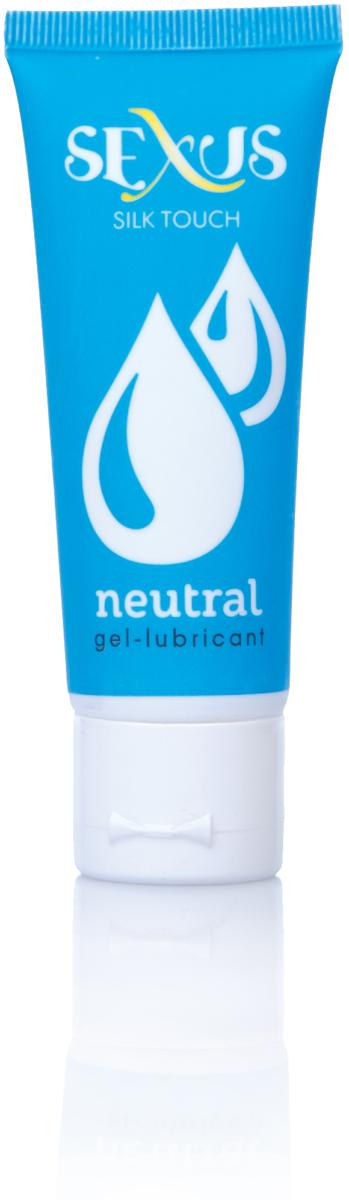 Sexus Lubricant Гель-лубрикант на водной основе нейтральный Silk Touch Neutral, 50 мл plaisirs secrets massage oil candy floss 59мл массажное масло сладкая вата