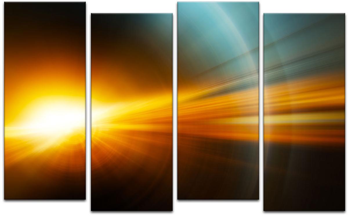 Картина модульная Картиномания Красивые лучи света, 90 х 57 смАРТ-М210SВ состав входит комплект креплений и инструкция по креплению на стену.