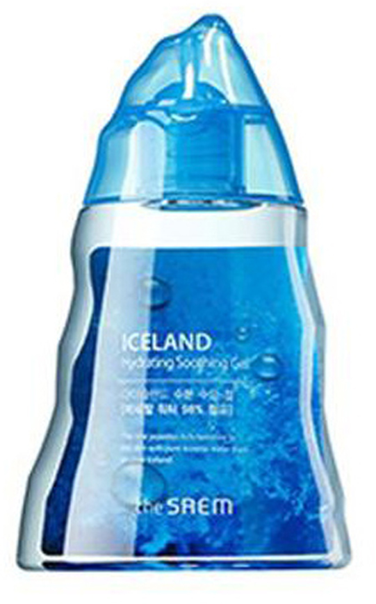 The Saem Гель для тела минеральный Iceland Hydrating Soothing Gel, 150 мл гель the saem snail soothing gel объем 300 мл