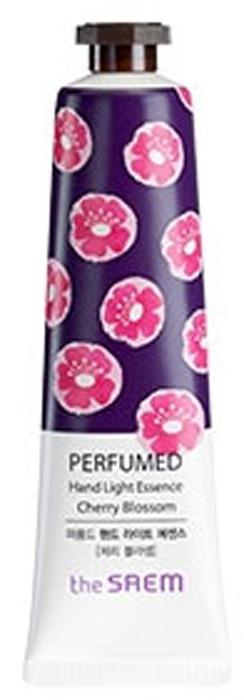 The Saem Крем-эссенция для рук парфюмированный Perfumed Hand Light Essence Cherry Blossom, 30 млСМ1611Увлажняет кожу рук, питает полезными витаминами и минералами. Защищает кожу рук от негативного воздействия внешней среды. Укрепляет клетки кожи, защищает ее от микротрещин и повреждений. Помогает в заживлении ранок.