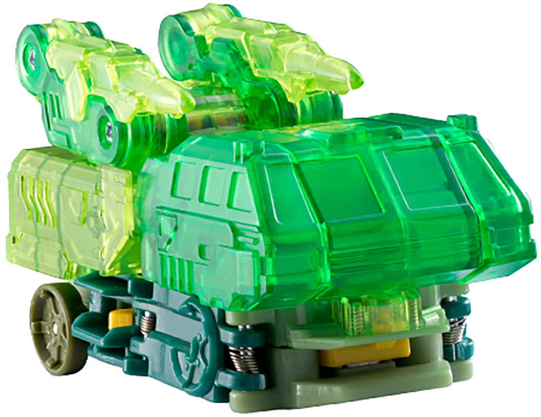 Дикие Скричеры Машинка-трансформер Гейткрипер цвет зеленый