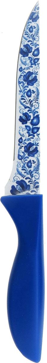 Универсальный нож от Miolla будет незаменим на кухне и легко разрежет любые виды продуктов. Нож оснащен лезвием из нержавеющей стали с декорированным покрытием. Нож легко моется - достаточно ополоснуть его в теплой воде и вытереть насухо полотенцем. Эргономичная рукоятка с протектором для пальцев удобно лежит в руке и обеспечивает комфортную резку. Не подходит для мытья в посудомоечной машине.