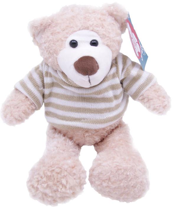 Magic Bear Toys Мягкая игрушка Мишка Теодор в свитере 25 см