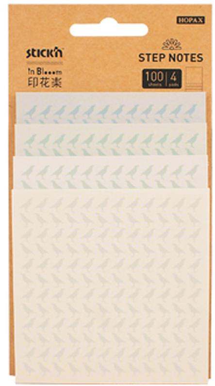 Stickn Блок самоклеящийся с рисунками inBlooom 100 листов 4 цвета 28074381363Самоклеящиеся листочки привлекают к себе внимание и удобны для заметок, объявлений и других коротких сообщений. Легко крепятся к любой поверхности, не оставляют следов после отклеивания. Особенность блоков - отсутствие клеевой полосы между блоков разного дизайна. Можно использовать лист с любым дизайном, даже из середины блока, не нарушив целостность всего блока. Листки оформлены рисунком.