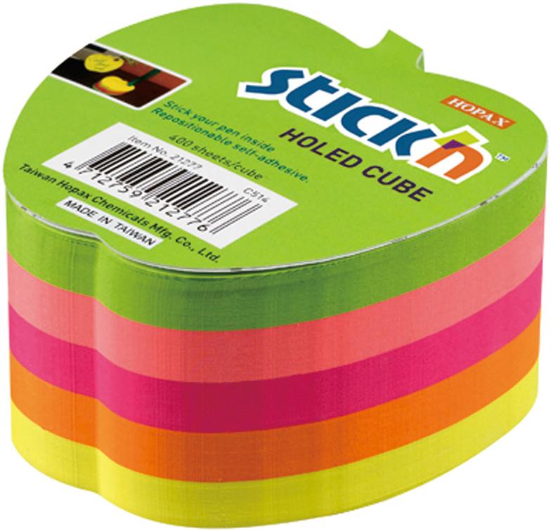 Stick'n Блок неоновый самоклеящийся 70 x 70 мм 400 листов 5 цветов