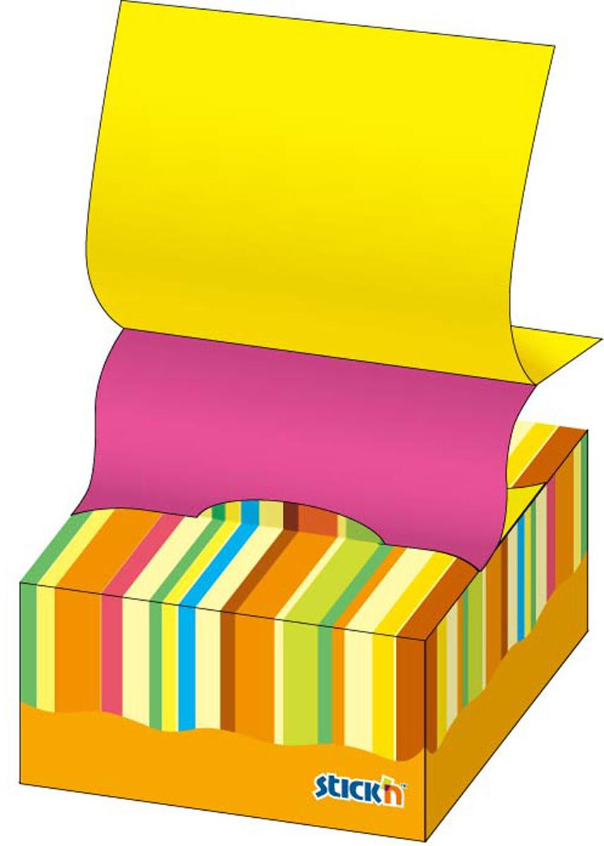 Stickn Блок неоновый самоклеящийся цвет желтый розовый 76 x 76 мм 200 листов822735Яркие самоклеящиеся листочки привлекают к себе внимание и удобны для заметок, объявлений и других коротких сообщений. Легко крепятся к любой поверхности, не оставляют следов после отклеивания. Особая технология Pop-up - максимальное удобство, при использовании одного листочка, другой подается автоматически.