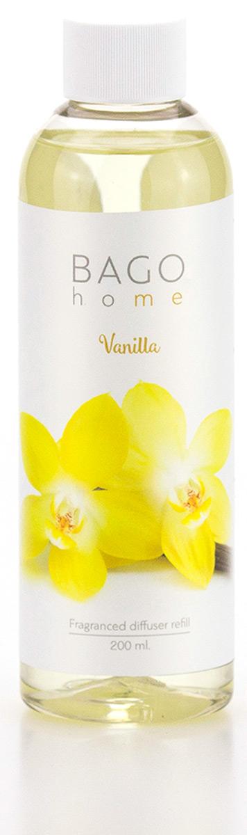Наполнитель для ароматического диффузора BAGO home Ваниль, 200 мл pediasure смесь со вкусом ванили с 12 месяцев 200 мл