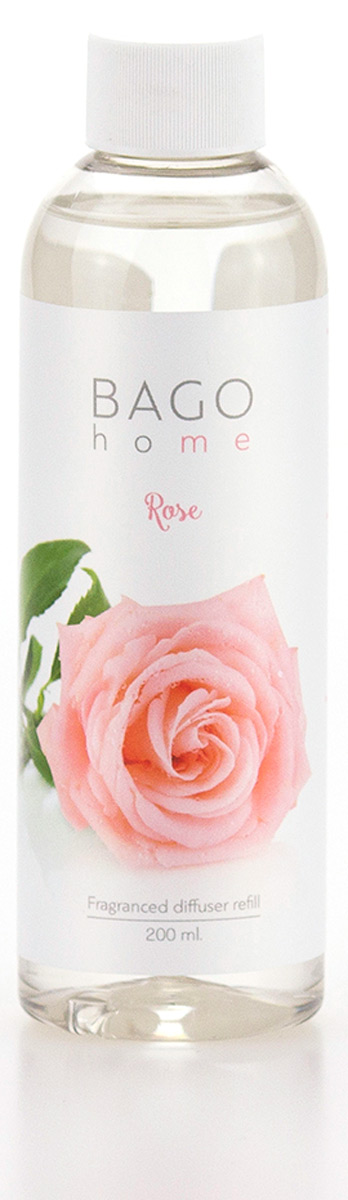 Наполнитель для ароматического диффузора BAGO home Роза, 200 млBGH0304Ароматический диффузор Роза от Bago home наполнит ваш дом истинно королевскимненавязчивым ароматом. Ароматы разработаны ведущими парфюмерными домами Европы. В производстве использованыпередовые технологии. Уникальная рецептура на основе компонентов растительногопроисхождения.