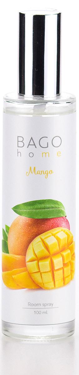 Спрей ароматический BAGO home Манго, 100 млBGH0409Спрей ароматический для дома Манго 100 мл. Ароматы BAGO home разработаны ведущимипарфюмерными домами Европы. В производстве использованы передовые технологии.Уникальная рецептура на основе компонентов растительного происхождения.