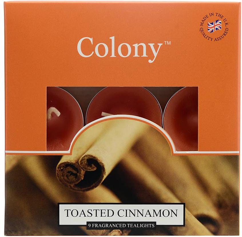 Свеча чайная Wax Lyrical Пряная корица, ароматическая, 9 шт свеча корица колонна 80 60 мм фитиль парафиныч