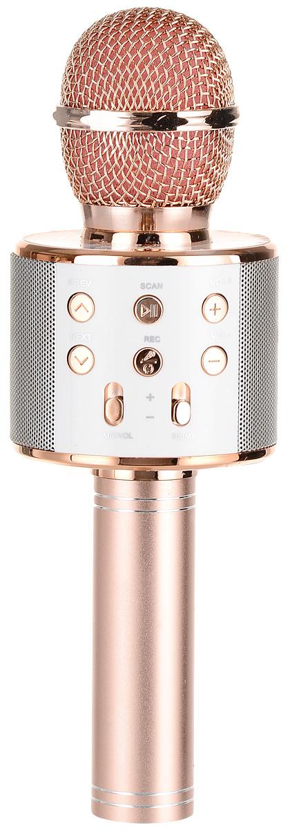 Karaoke Boom KB-WS858RU, Pink микрофон