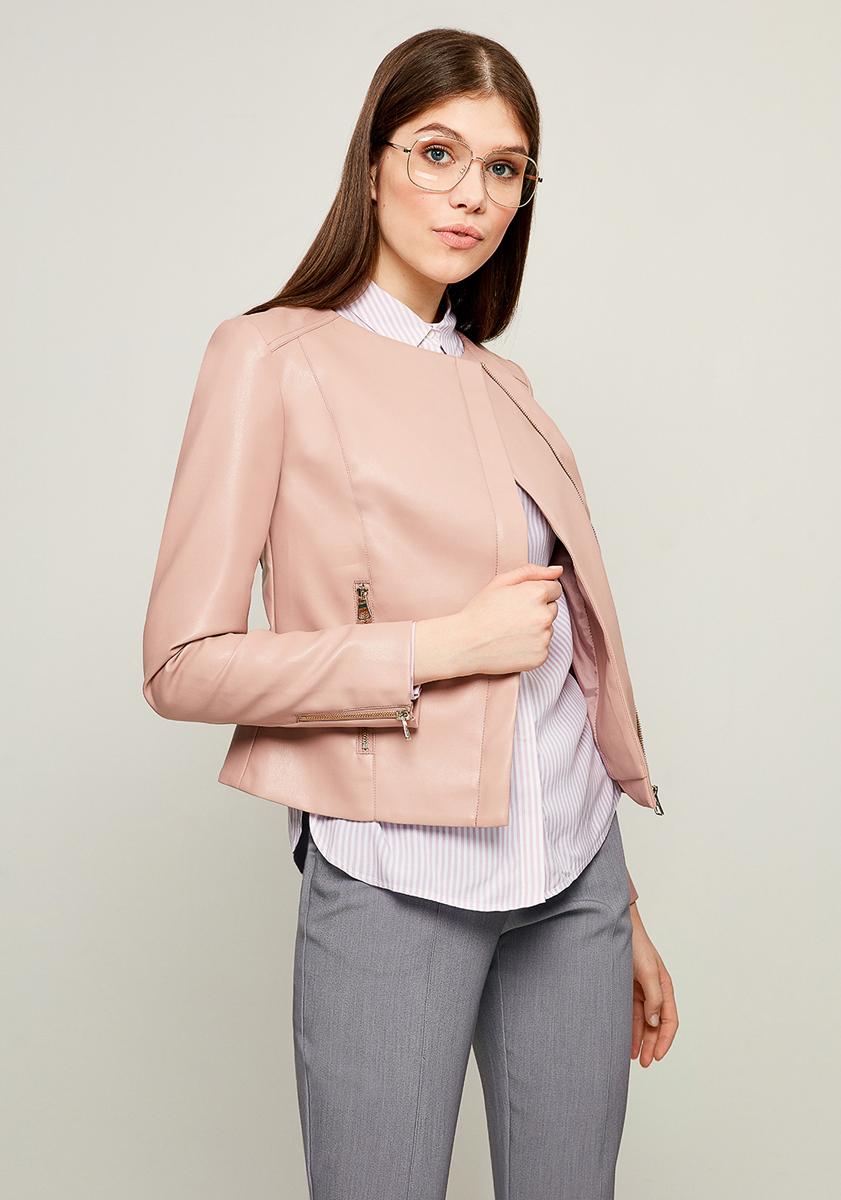Куртка женская Zarina, цвет: розовый. 8123403119093. Размер 468123403119093