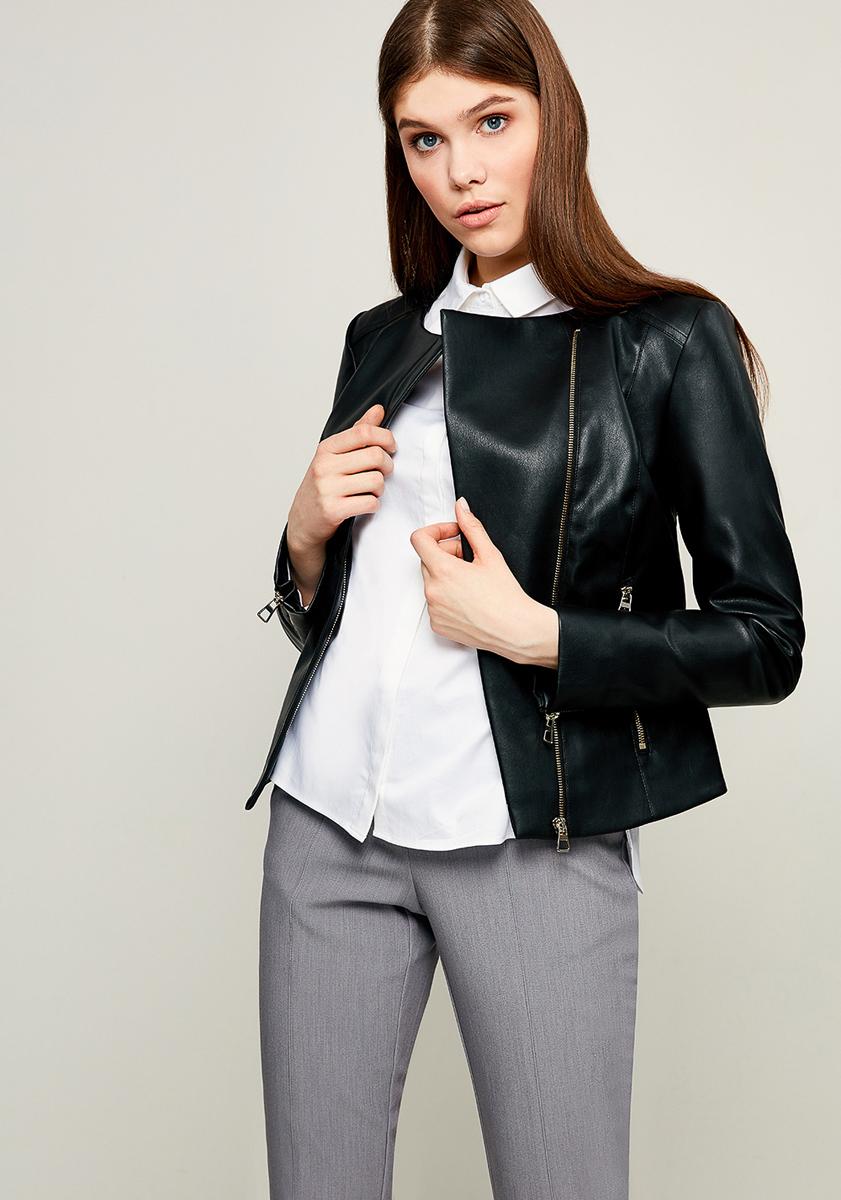 Куртка женская Zarina, цвет: черный. 8123403119050. Размер 508123403119050