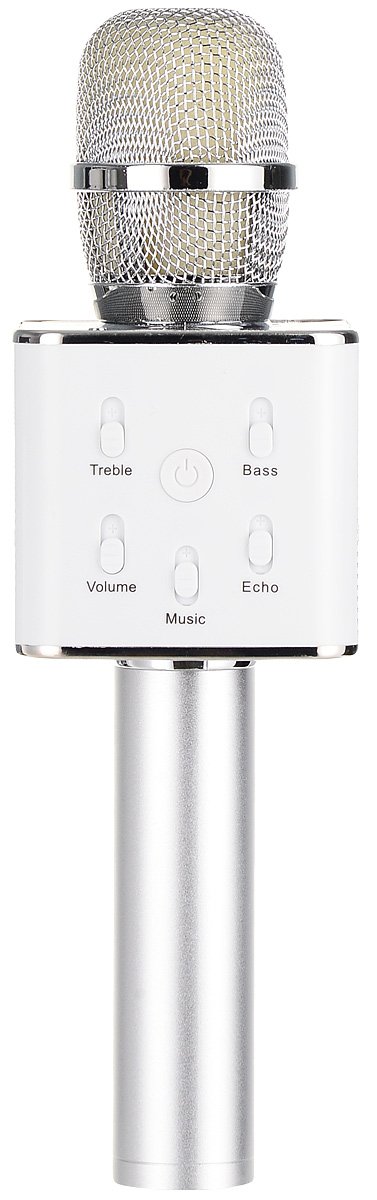 Karaoke Boom KB-Q7RU, Silver микрофон