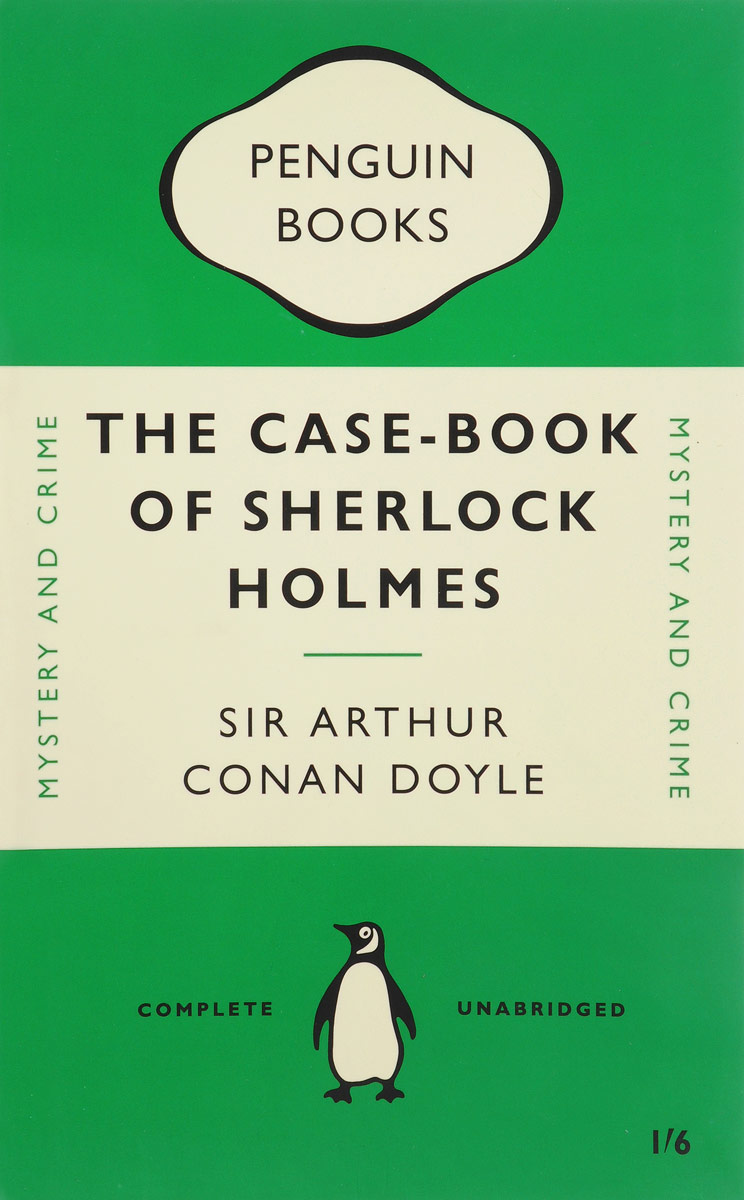 The Case-Book of Sherlock Holmes футболка print bar gunter the penguin
