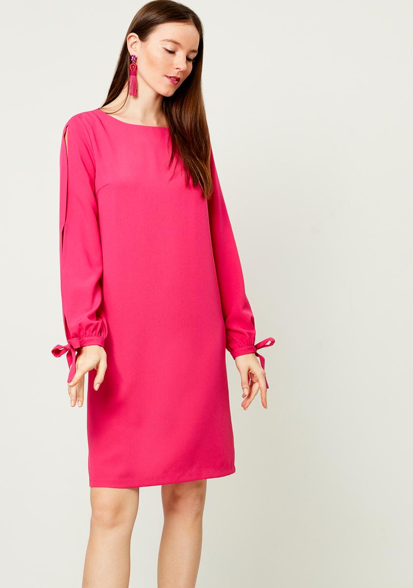 Платье Zarina, цвет: розовый. 8121007507077. Размер 448121007507077
