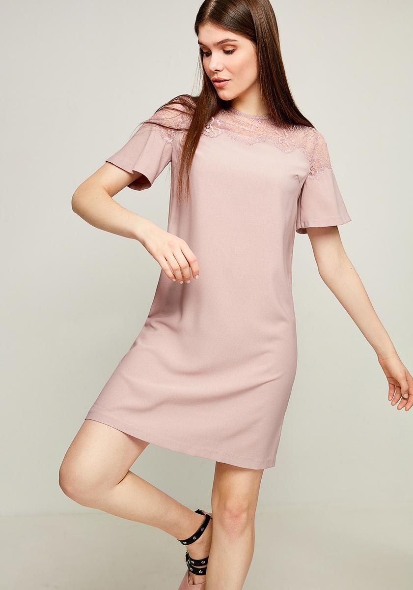 Платье Zarina, цвет: розовый. 8123040540093. Размер 508123040540093