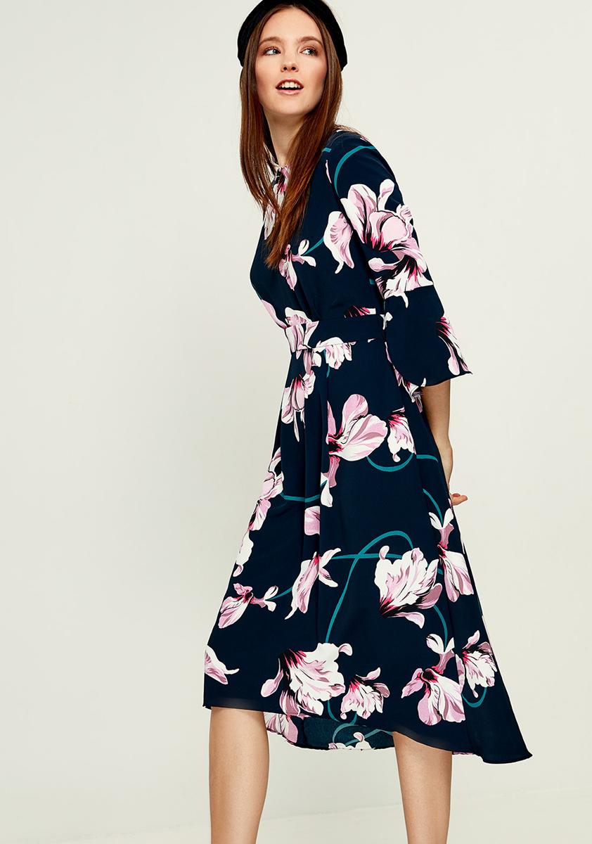 Платье Zarina, цвет: синий. 8121013513045. Размер 468121013513045