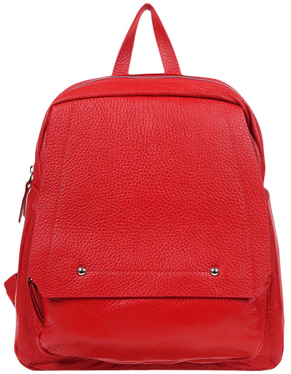 Рюкзак женский Celesta, цвет: ярко-красный. С-1507 рюкзак fabio bruno fabio bruno fa044bwampt0