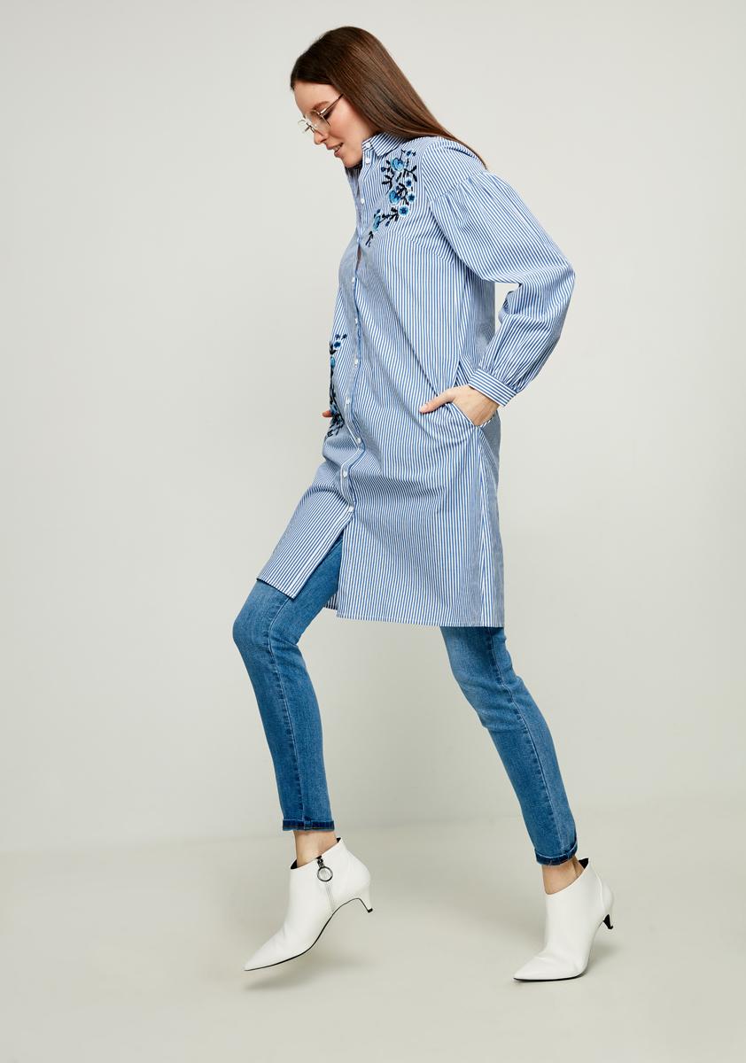Платье Zarina, цвет: темно-синий. 8122014516104. Размер 428122014516104