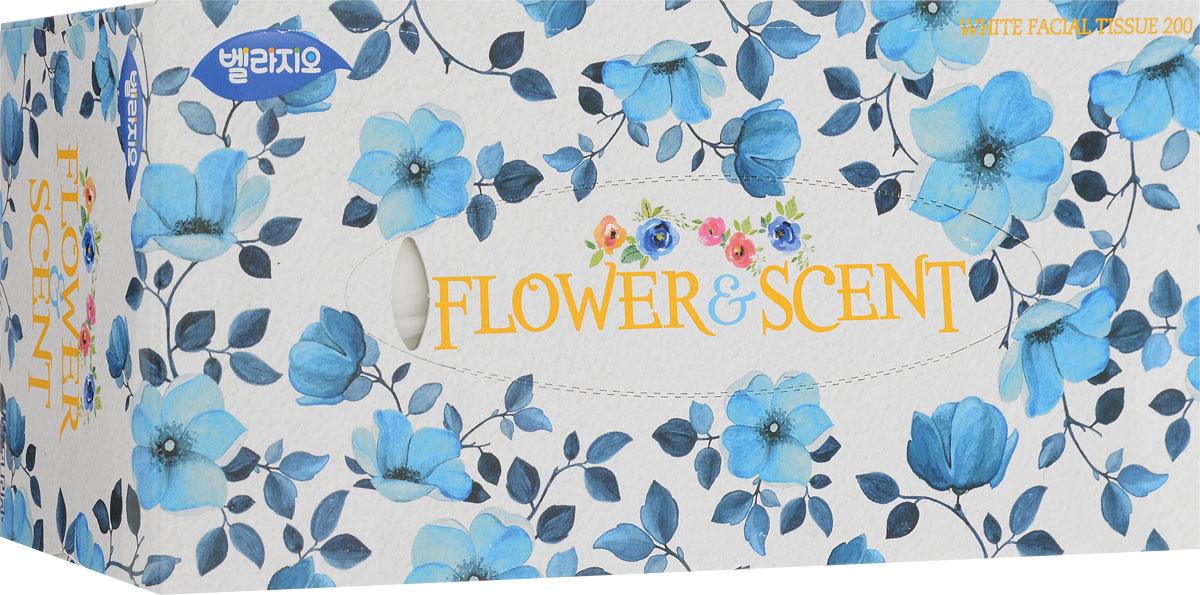 Салфетки для лица Monalisa, цвет: белый, голубой, 200 шт321493_белый, голубойСалфетки для лица Monalisa, цвет: белый, голубой, 200 шт