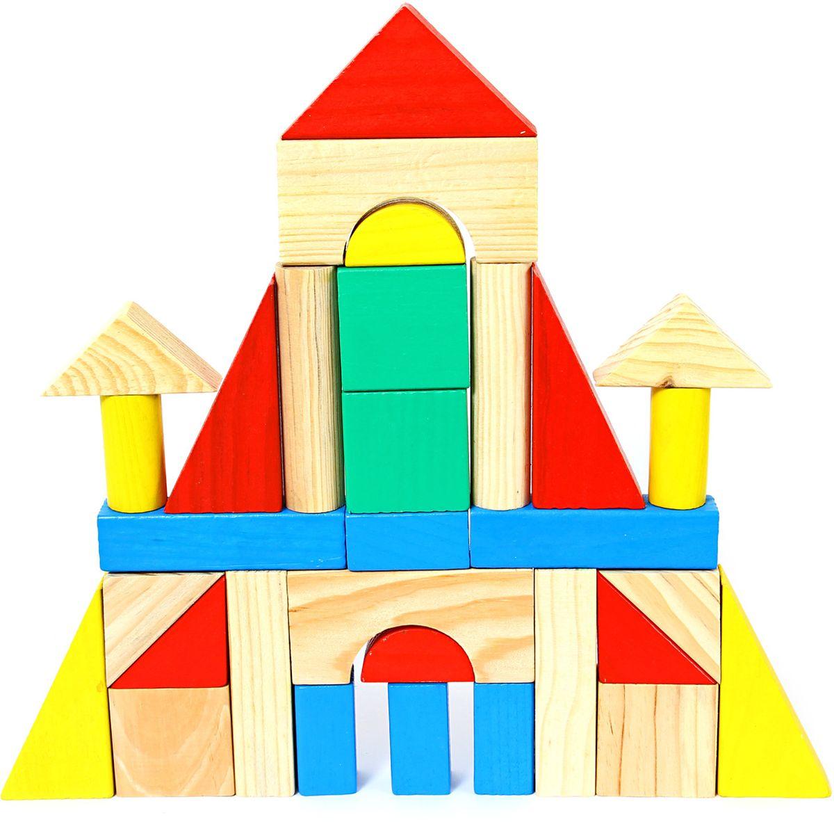Фабрика Фантазий Деревянный конструктор Сказочный домик деревянный конструктор кукольный домик