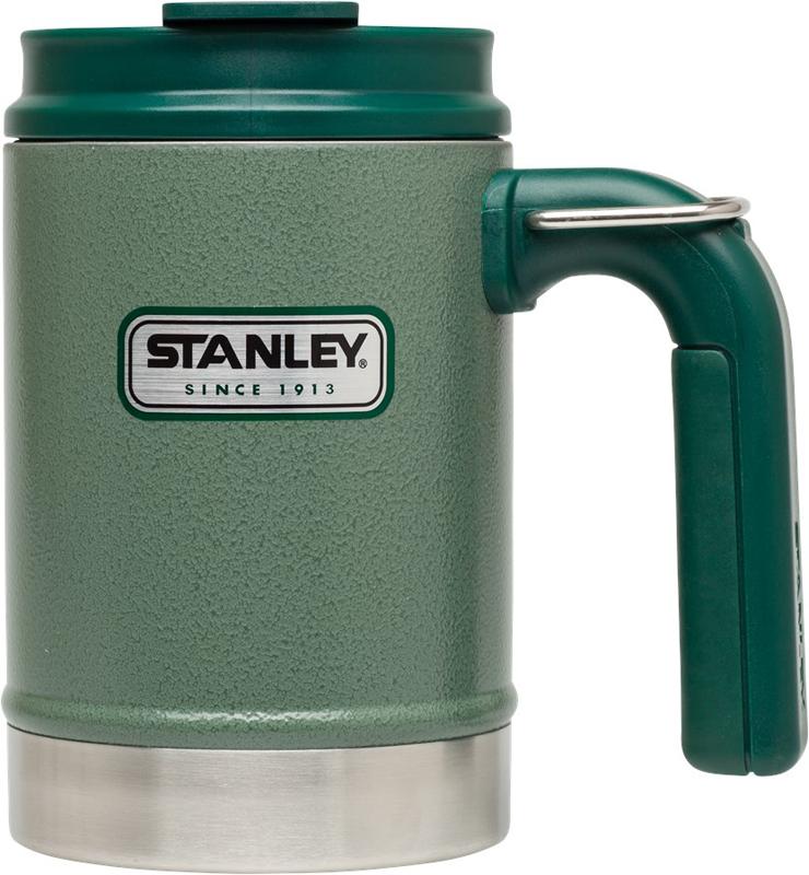 "Фото Термокружка Stanley ""Classic"", цвет: зеленый, 350 мл"