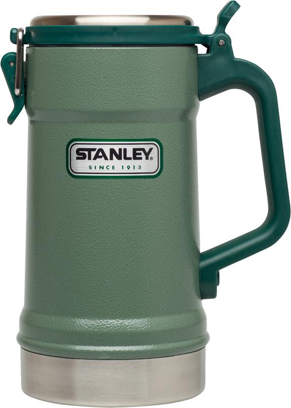 Термокружка Stanley Classic выполнена из нержавеющей стали. Крышка этой модели снабжена мощной запорной арматурой, которая позволит выдержать давление, создаваемое газированными напитками. Два уплотнительных кольца крышки легко снимаются для промывки. Модель обеспечивает сохранение тепла 5 часов, холода 5 часов. Напитки с кубиками льда в термокружке остаются в прохладном виде до 36 часов. Корпус, внутренняя колба и крышка выполнены из высококачественной нержавеющей стали. На наружную поверхность термокружки нанесена абразивостойкая эмаль. Можно мыть в посудомоечной машине. Гарантия при должной эксплуатации - пожизненная.