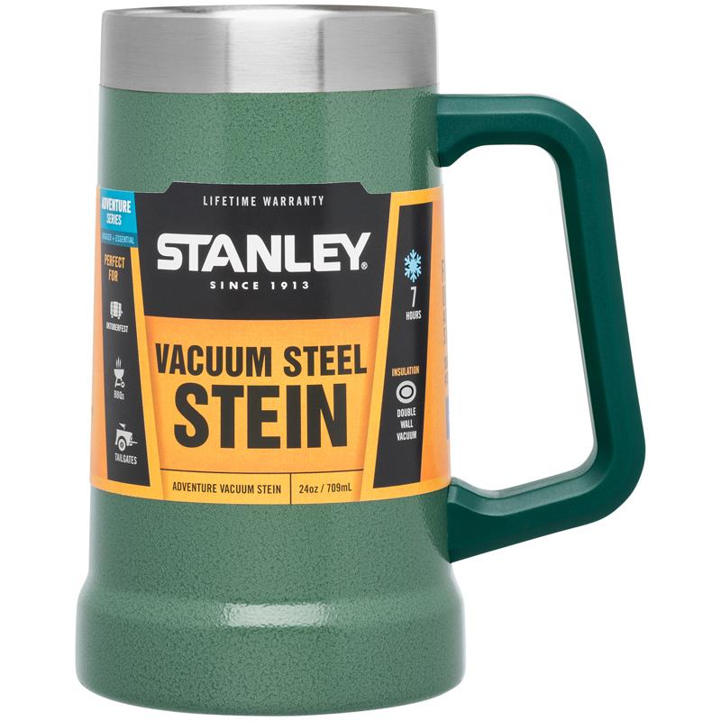 """Кружка Stanley """"Adventure"""" выполнена из нержавеющей стали и имеет вакуумную изоляцию. Наружное покрытие – абразивостойкая эмаль. Сохраняет тепло 1 час, холод – 7 часов, напитки со льдом – 30 часов."""