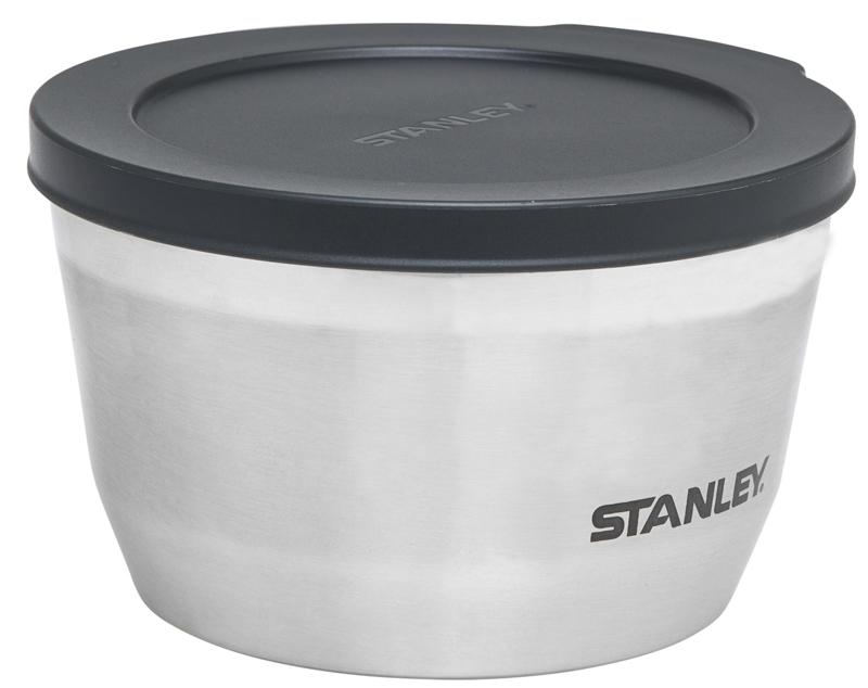 """Термоконтейнер Stanley """"Adventure"""" предназначен для хранения еды. Корпус выполнен из нержавеющей стали 18/8. Крышка герметична. Вакуумная изоляция. Сохраняет тепло 2 часа, холод – 2,5 часов. Подходит для мытья в посудомоечной машине. Пожизненная гарантия."""