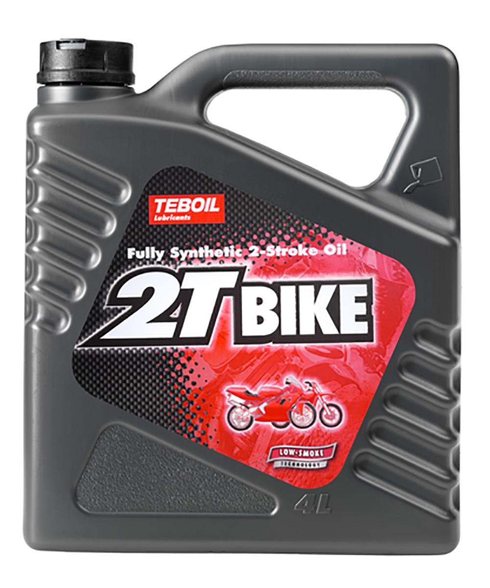 Масло моторное TEBOIL 2T BIKE, синтетическое, API TC, 4 л19095TEBOIL 2T Bike - полностью синтетическое масло для 2-тактных двигателей мотоциклов, скутеров, мопедов и мотопил.Масло TEBOIL 2T Bike предназначено для мощных 2-тактных двигателей мотоциклов, скутеров, мопедов и цепных пил с водяным или воздушным контуром охлаждения. Масло TEBOIL 2Т Bike может работать в смеси с бензином (в соответствии с рекомендациями изготовителя двигателя). Это масло не рекомендуем использовать для 2-тактных подвесных лодочных моторов. Для них разработано масло TEBOIL 2T Special Outboard.Допуски и спецификации:API TCJASO FDISO L-EGDISO GD++HusqvarnaPiaggio HexagonБлагодаря эффективным, практически беззольным, присадкам TEBOIL 2T Bike обеспечивает минимизацию образования дыма и нагара, предотвращает износ, обеспечивает эффективную защиту от коррозии, увеличивая срок службы двигателя. Масло TEBOIL 2T Bike обладает отличными смазывающими и противоизносными свойствами, что позволяет применять его в мощных и тяжело нагруженных 2-тактных двигателях.Преимущества:- Обладает великолепными противодымными свойствами;- Обеспечивает превосходную чистоту и защиту двигателя от износа;- Увеличивает срок службы двигателя.