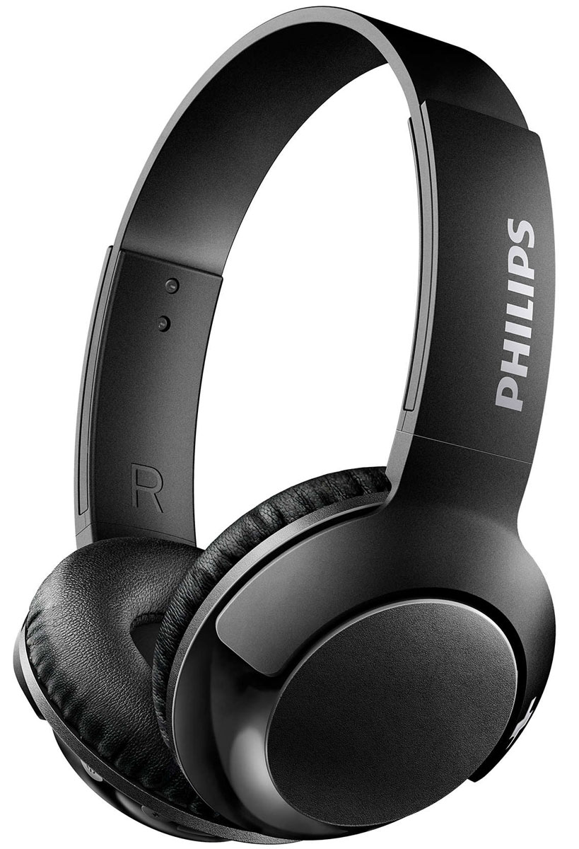 Philips SHB3075 Bass+, Black Bluetooth-гарнитура
