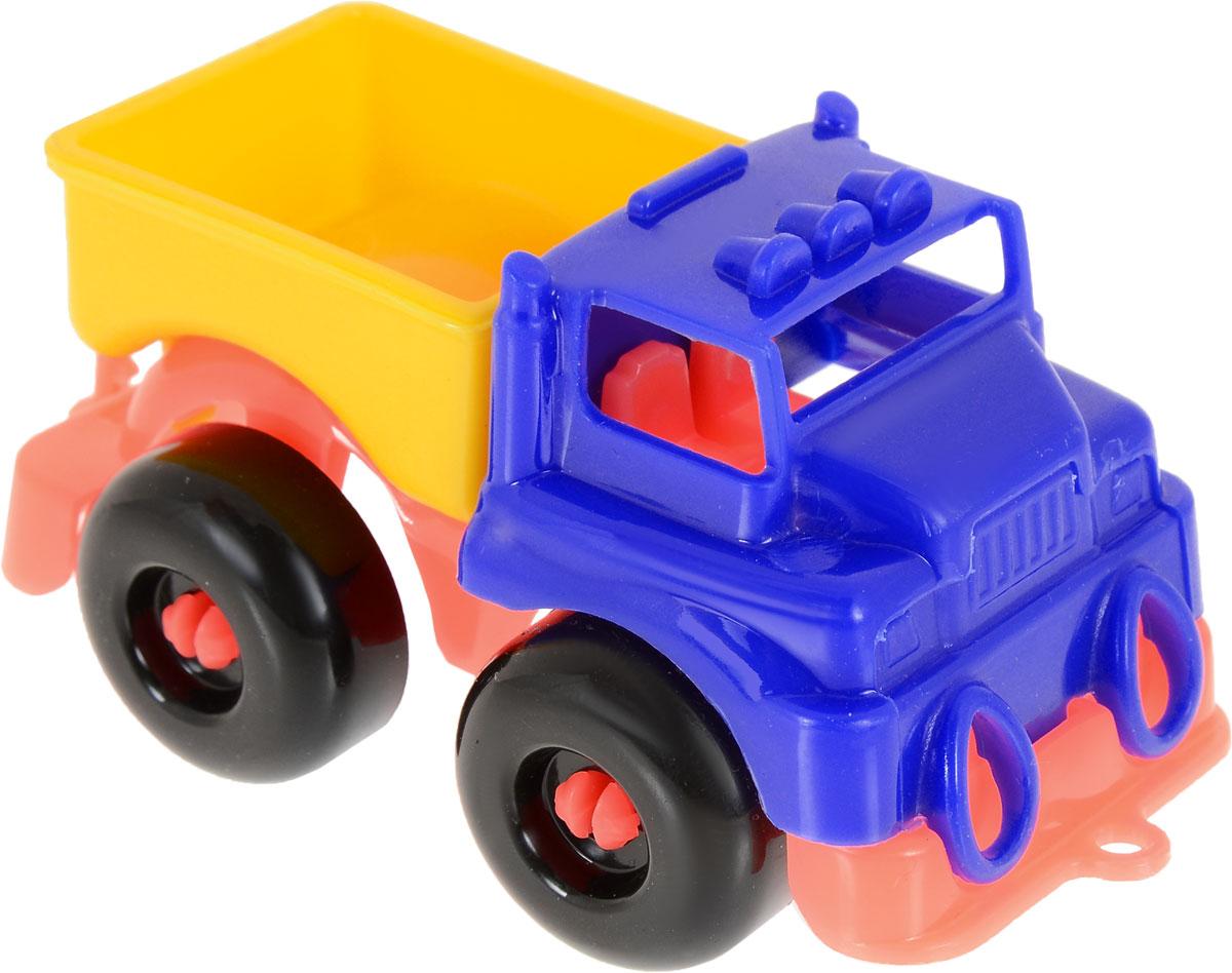 Пластмастер Грузовик Малютка цвет синий желтый