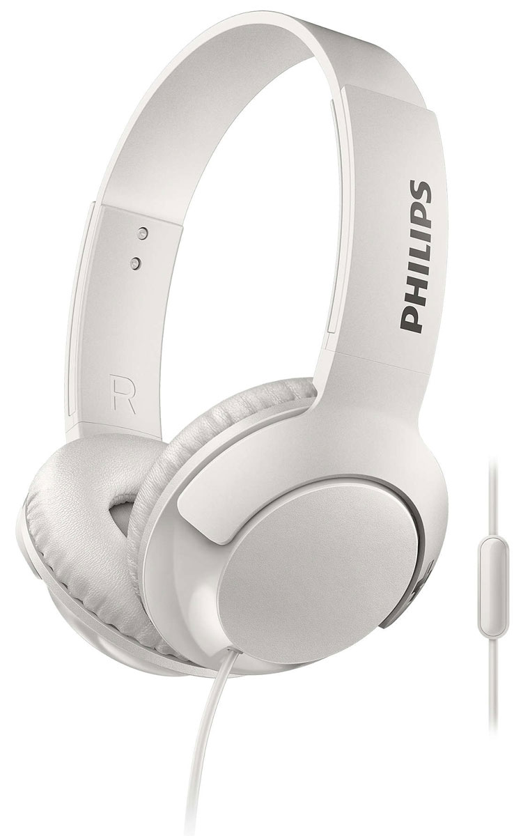 Philips SHL3075 Bass+, White наушники